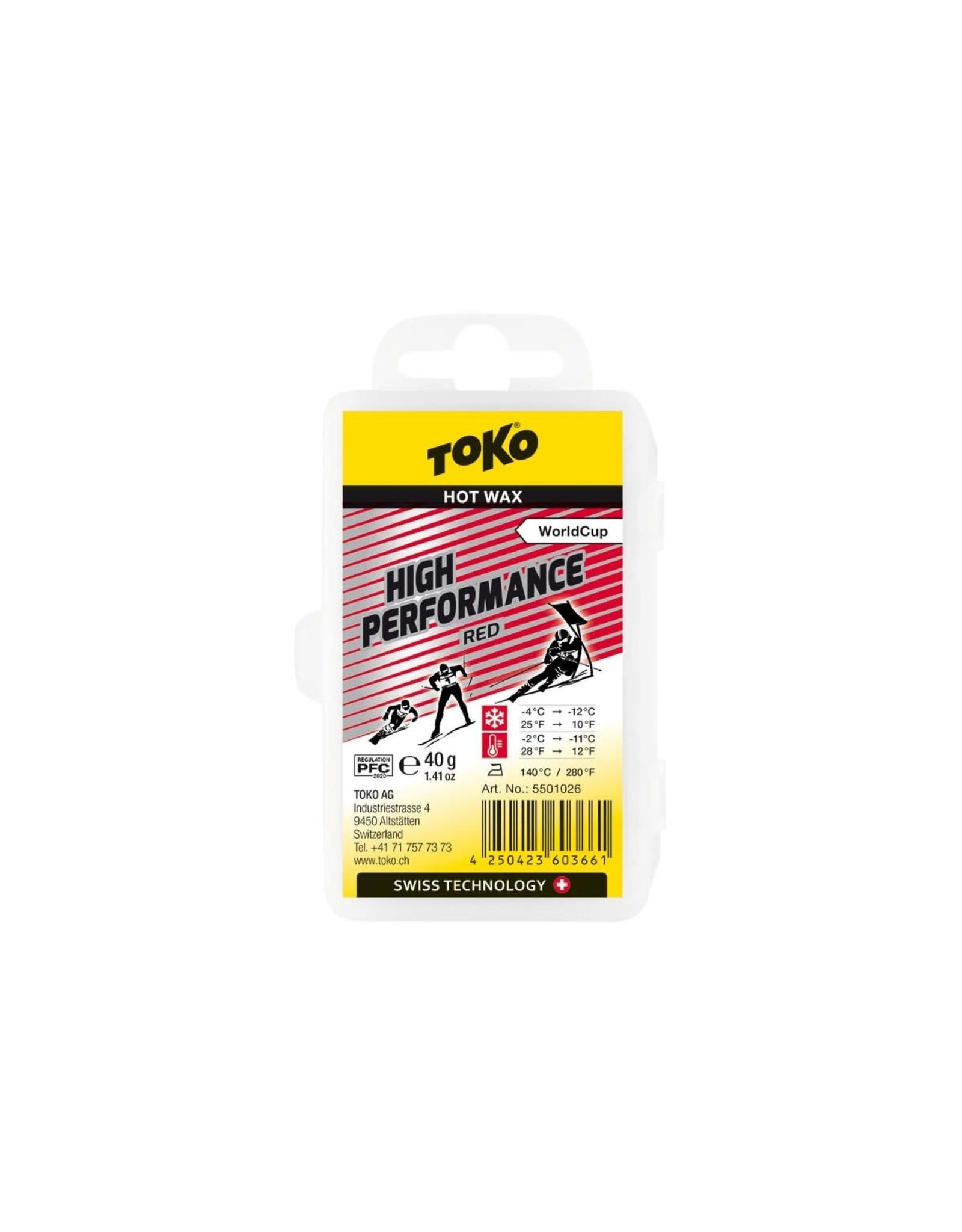 Toko Toko High Performance Hot Wax Red