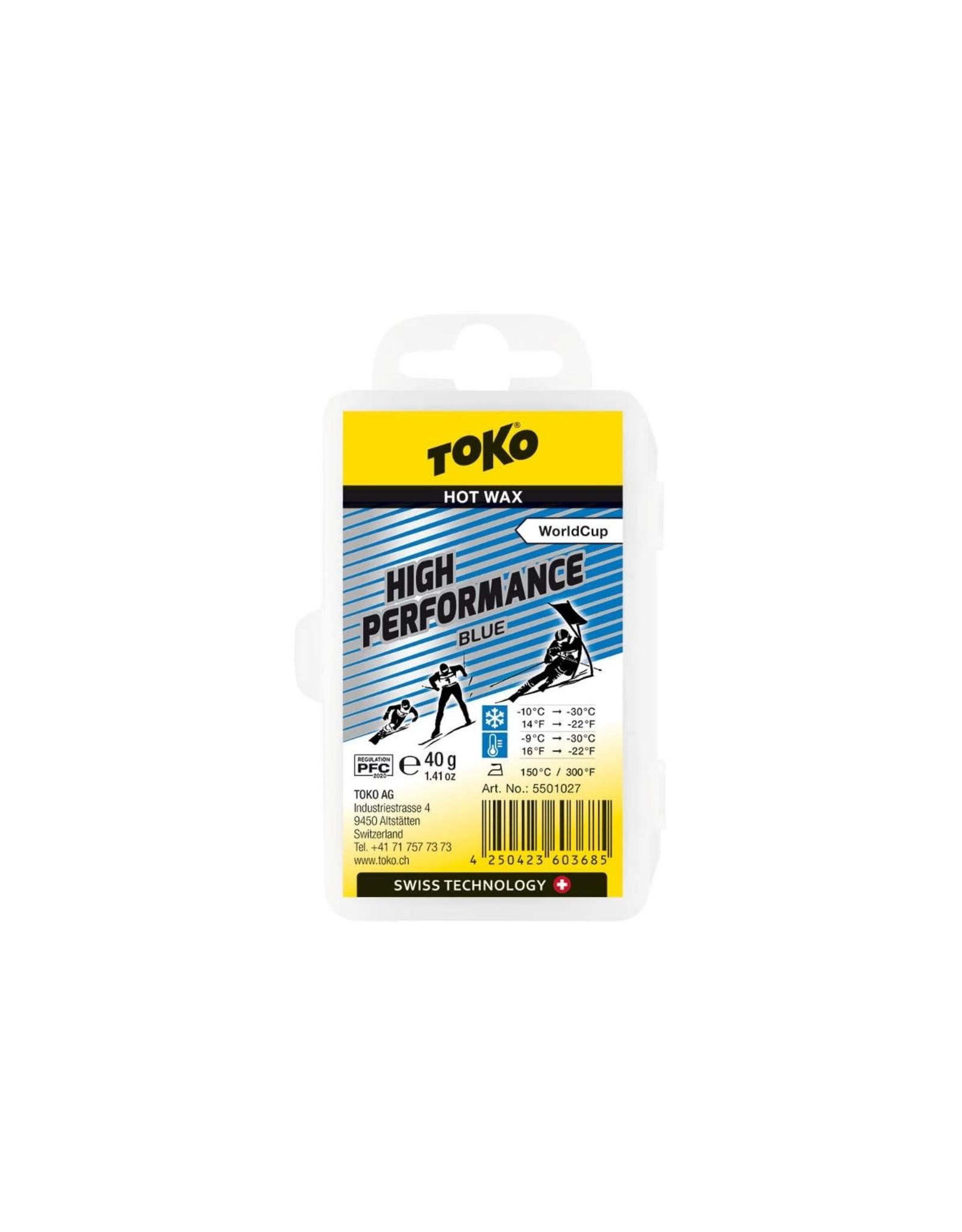Toko Toko High Performance Hot Wax Blue