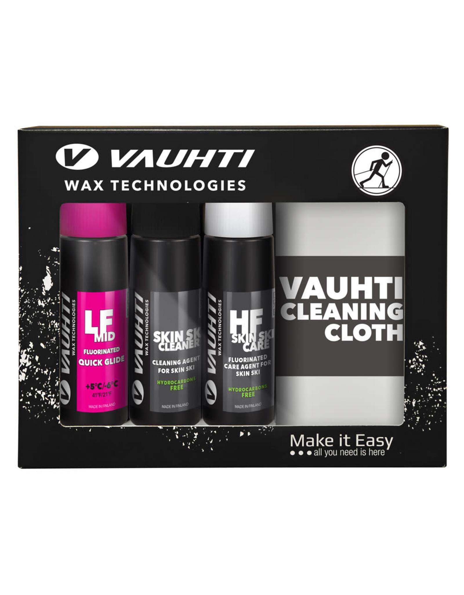 Vauhti Vauhti Skin Ski Care 3-Pack