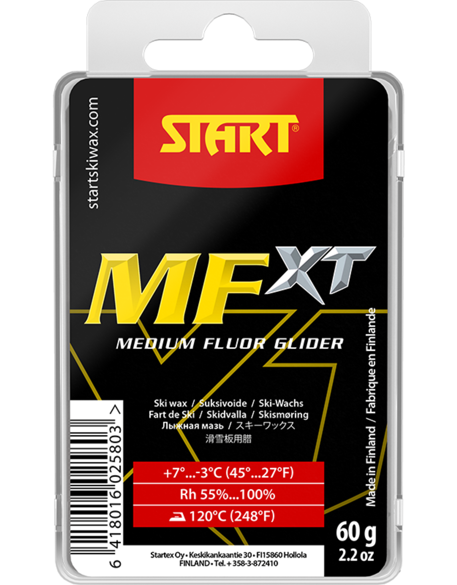 Start Start MFXT Fluor Glide Wax Red