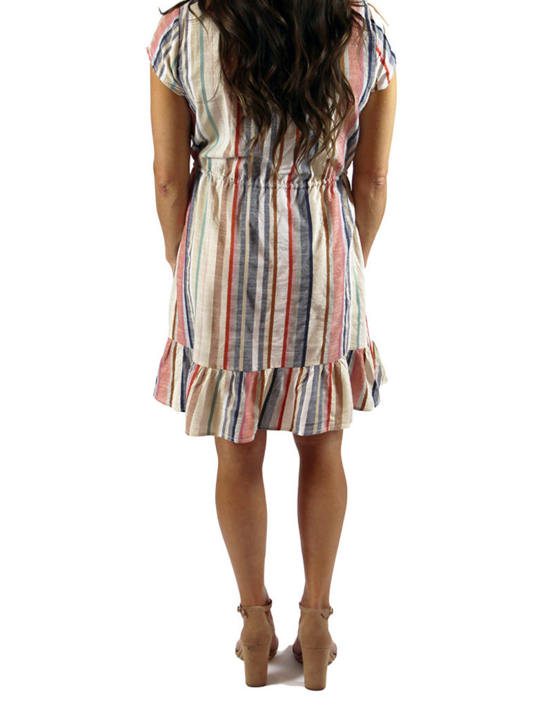 KASHMIR STRIPE DRESS