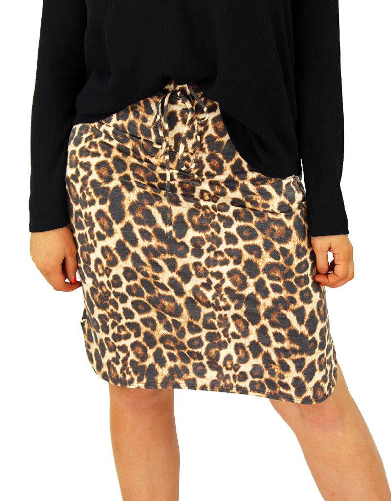 LEOPARD IT SKIRT
