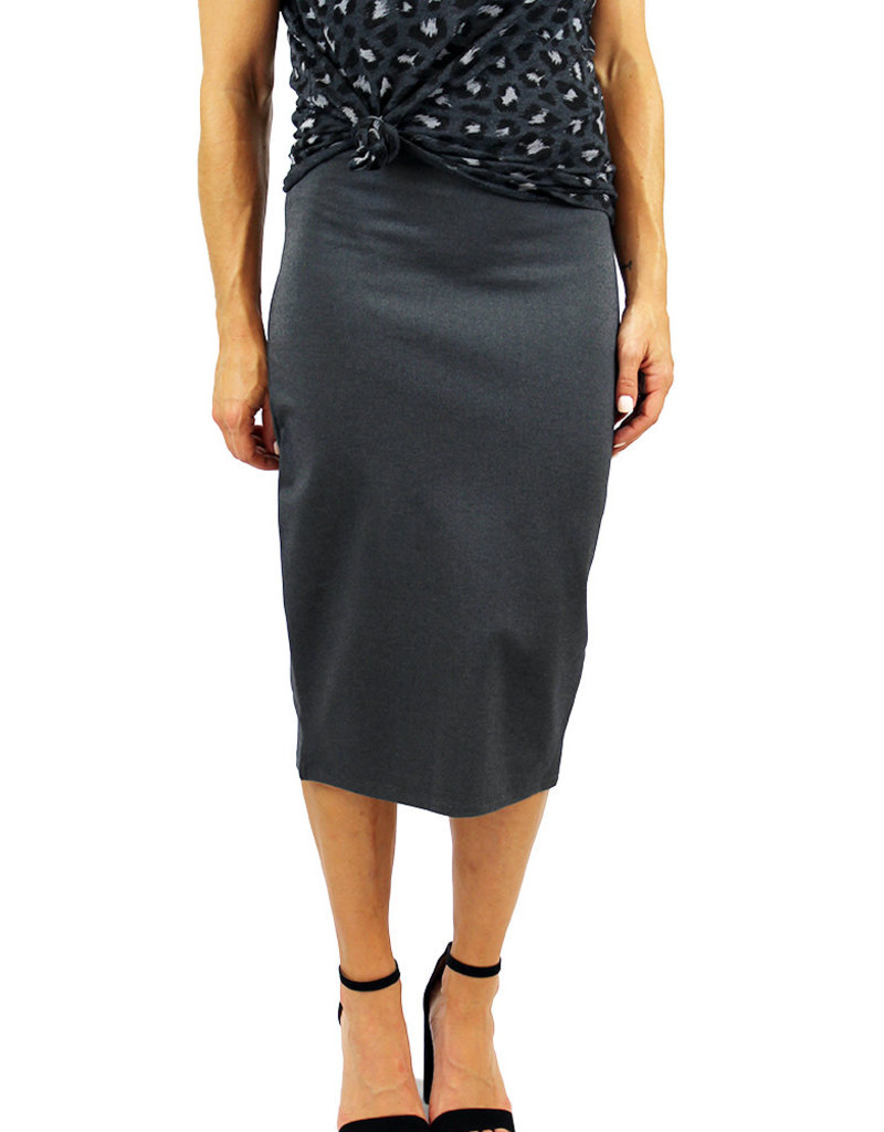 PONTE PERFECTION MIDI SKIRT