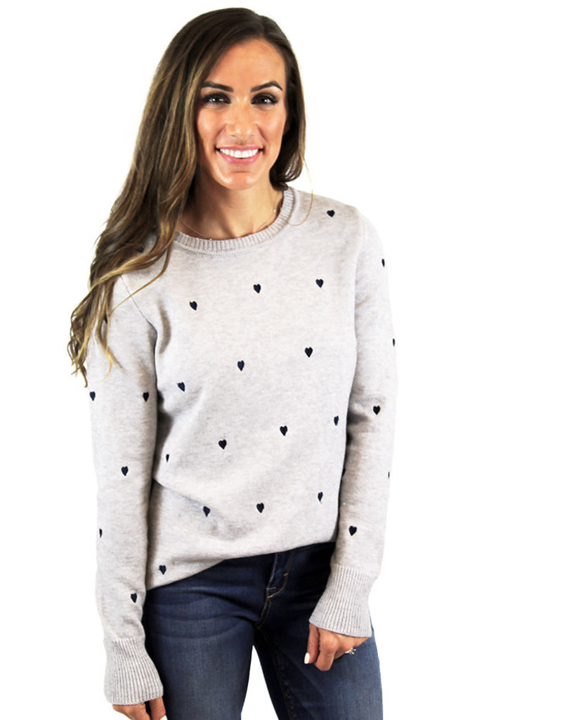 HEART FOR YOU SWEATER
