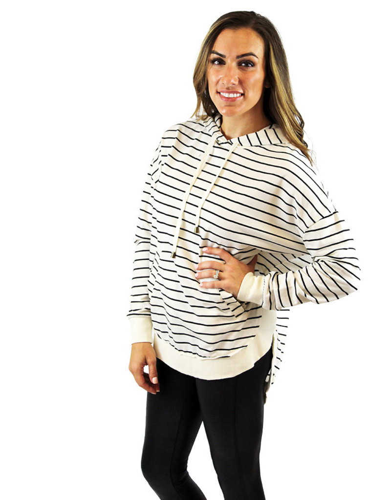 STRIPED DAKOTA PULLOVER