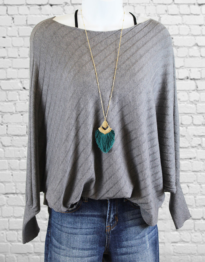 TASSEL PENDANT- 5 color choices
