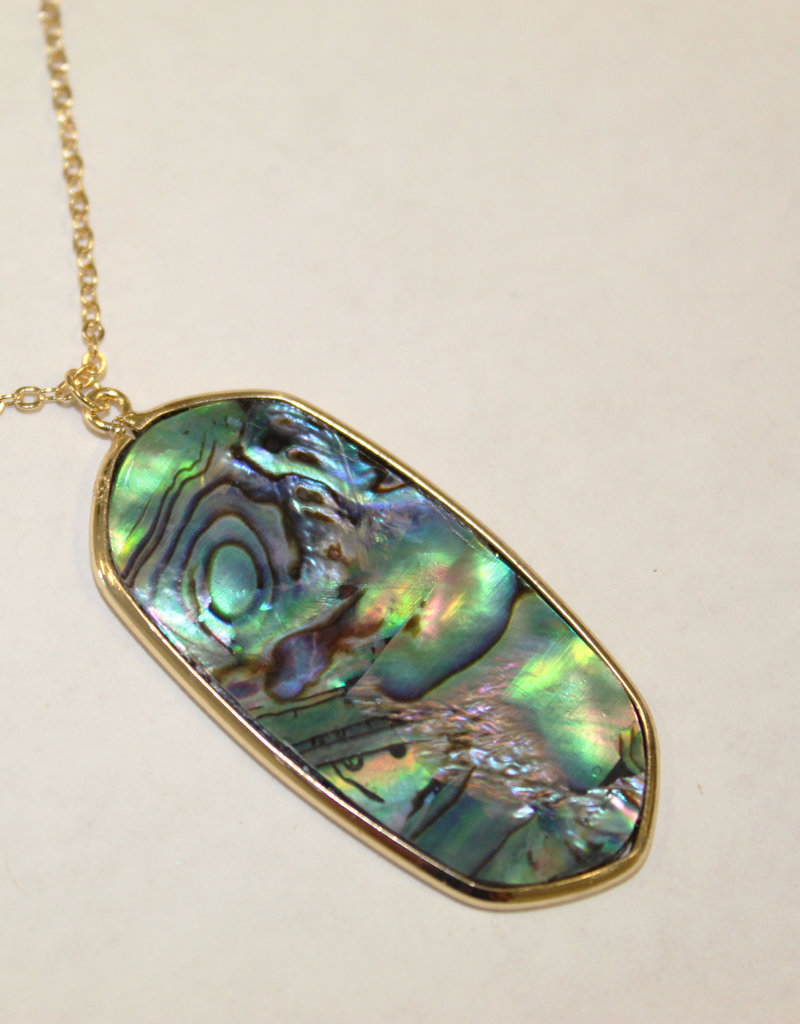 OVAL PENDANT-Multi or Cream Available