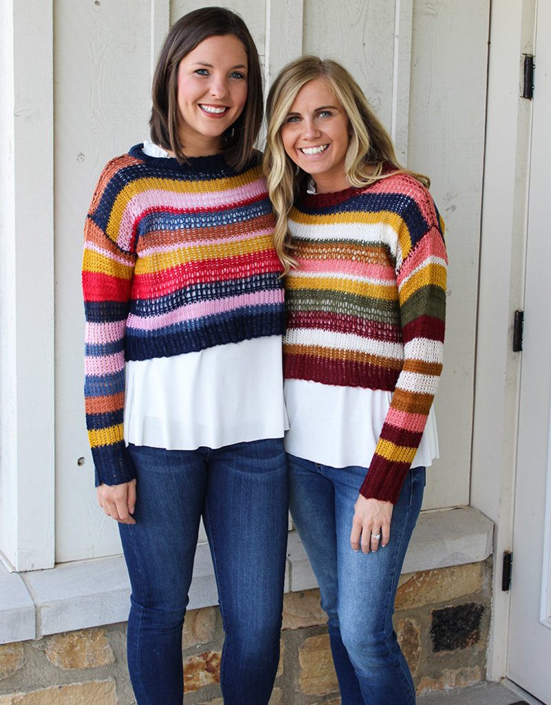 BANTER SWEATER- TWO Colors