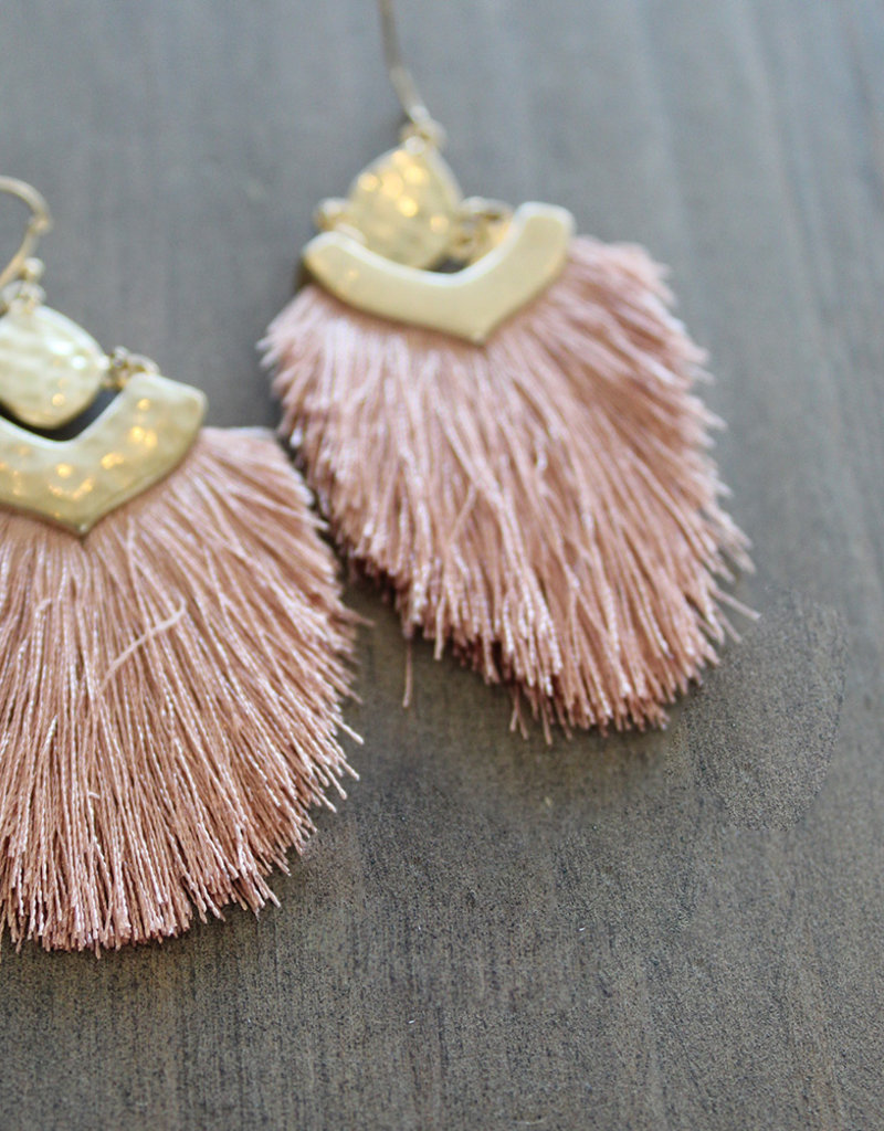 TASSEL EARRING-4 Colors Available