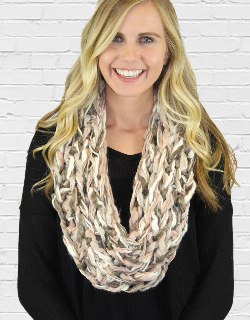 BRAIDED INFINITY-Two Colors Available