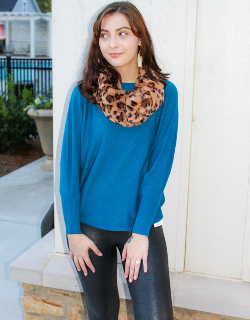 RYU THIN SWEATER- Black, Mustard, Wildberry, Jean Blue, Scarlet Red, Teal, Heather Gray