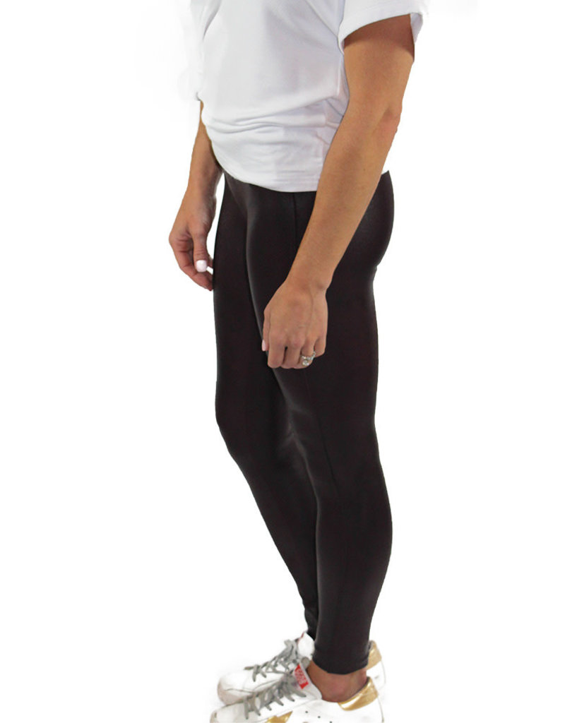 Spanx FAUX LEATHER LEGGING