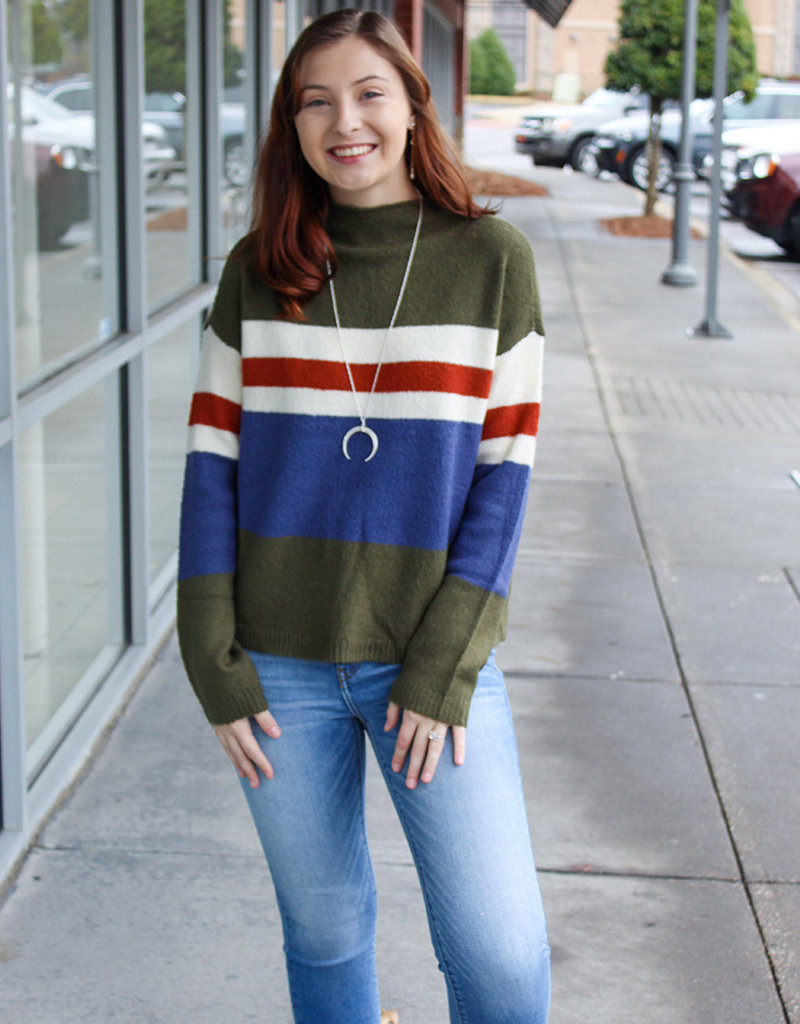 STRIPES SWEATER- Two Colors!