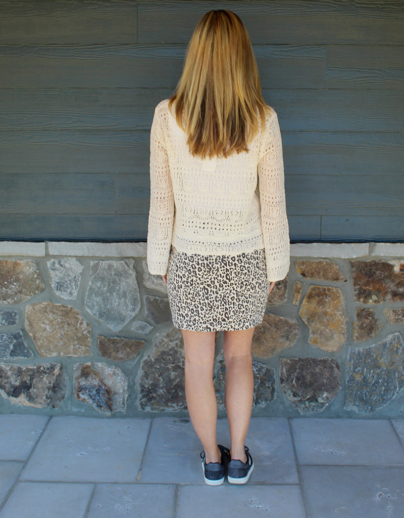 Scrunch Sweater- Cream or Mint