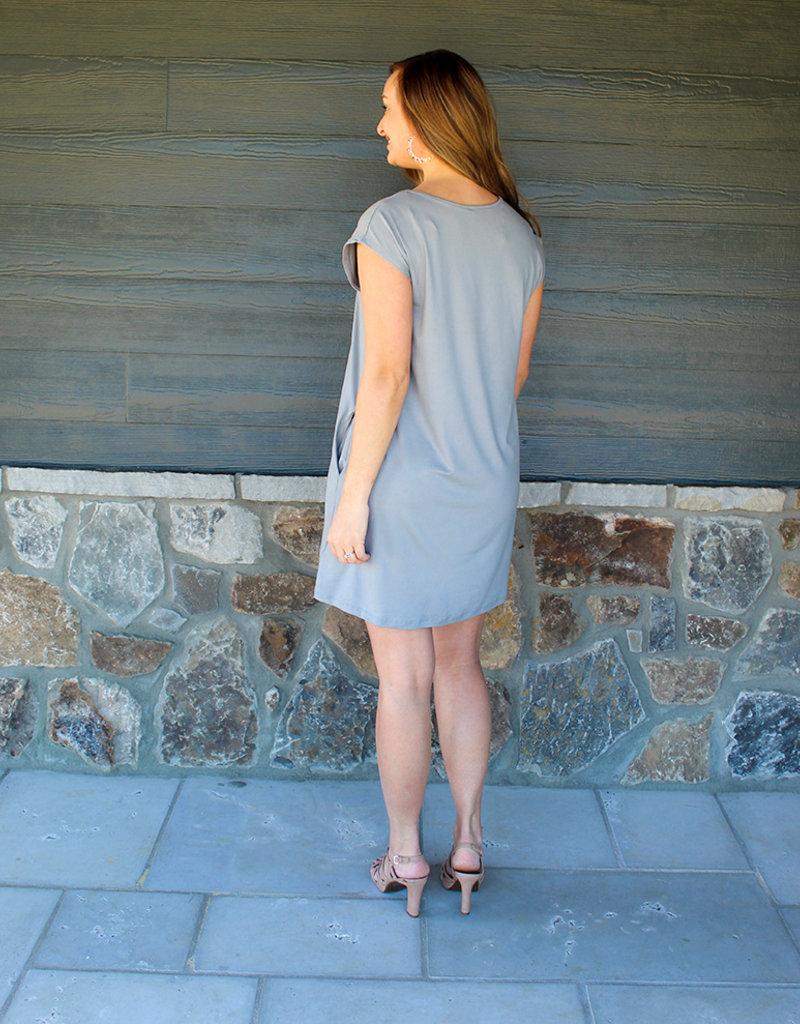 Basic Shift V Dress