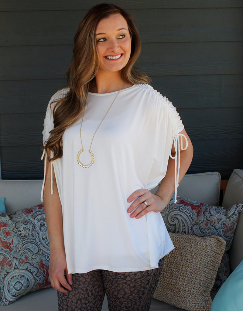 Percey Gathers Top- Two Colors Available
