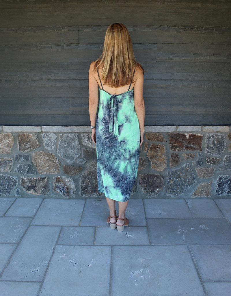 Lime Midi Dress