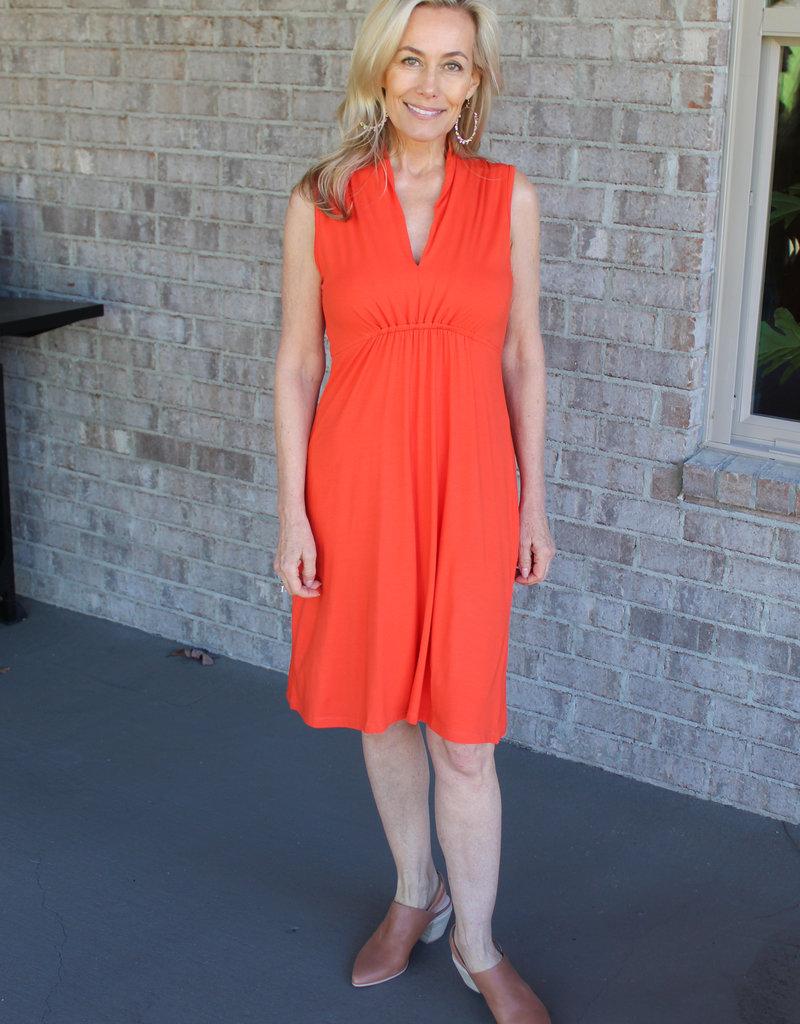 Tori Dress- Orange or Black