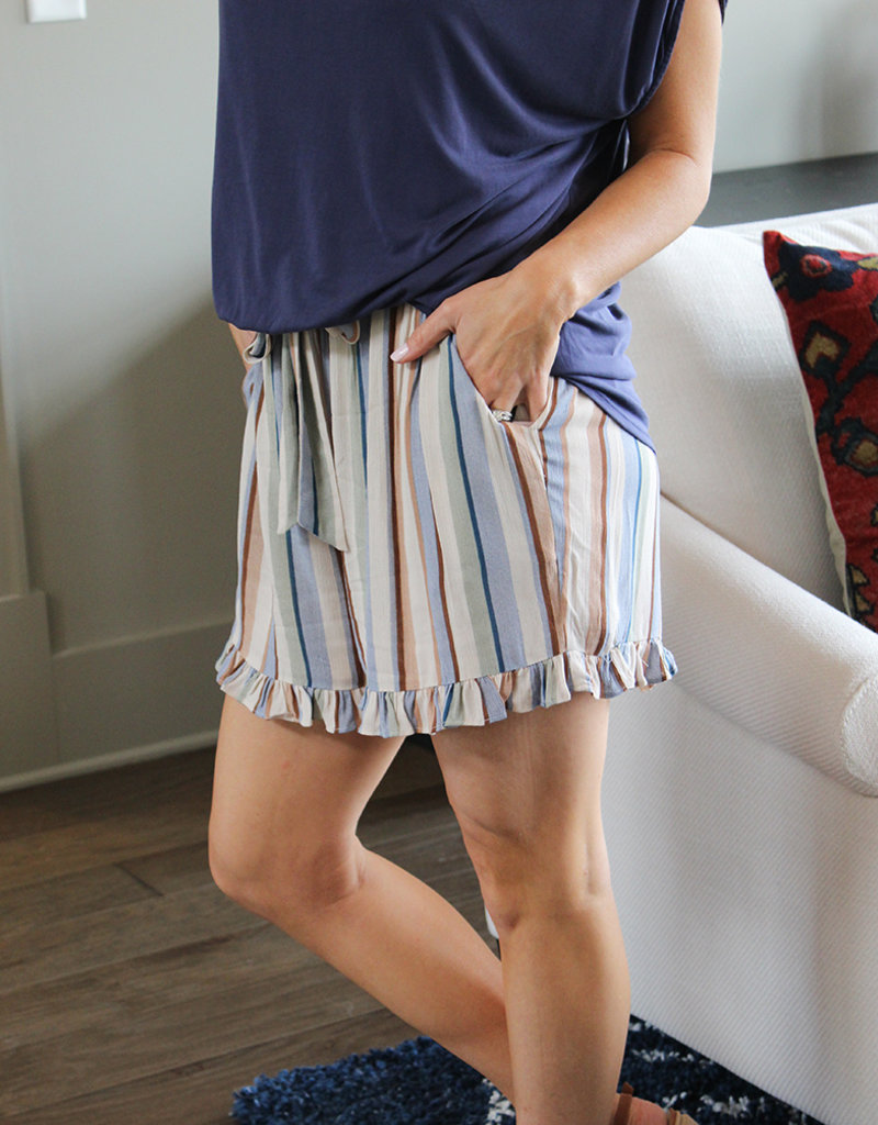 Mercy Stripe Short