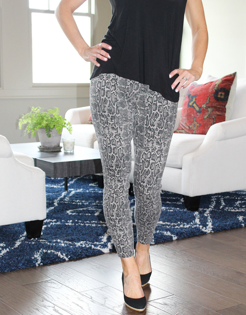 Spanx Snakeskin Jeanish Leggings