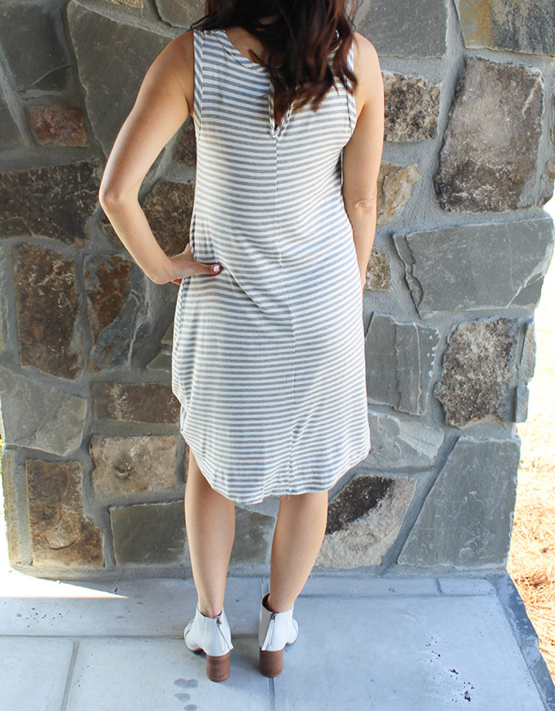 Twisted Tank Dress