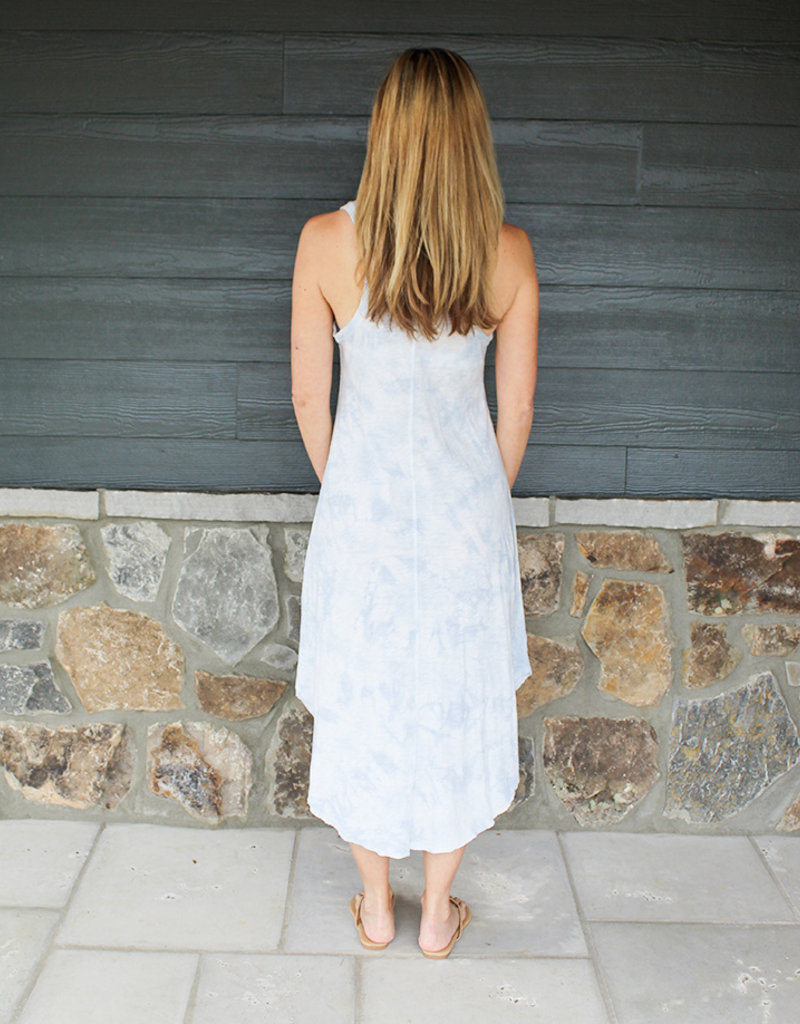 CLOUD TIE DYE DRESS