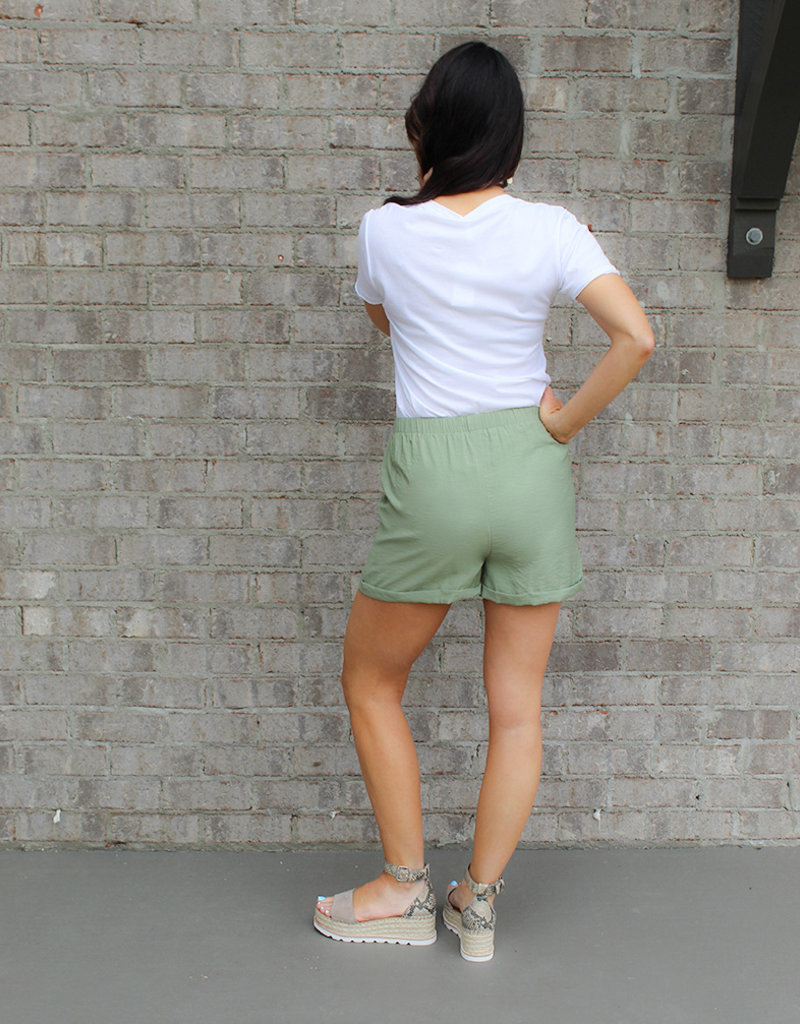 MARKA SHORT- Olive or Blue