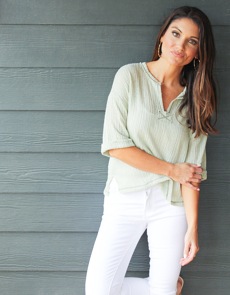 NILLY POPOVER TOP