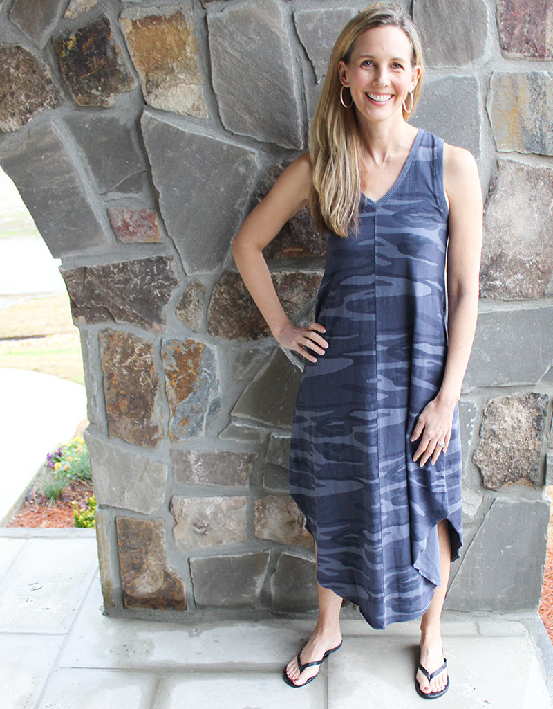 CAMO REVERIE DRESS- Two Colors Available