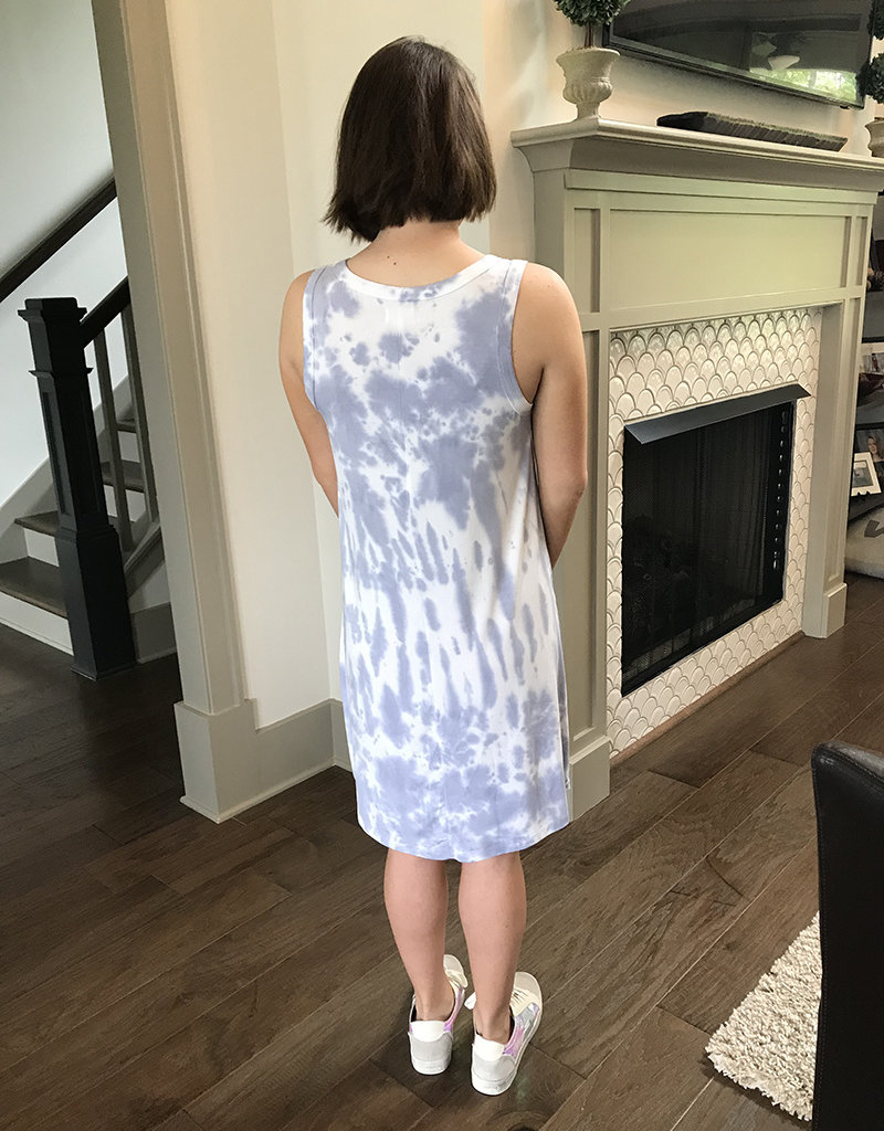 DAISY TIE DYE DRESS