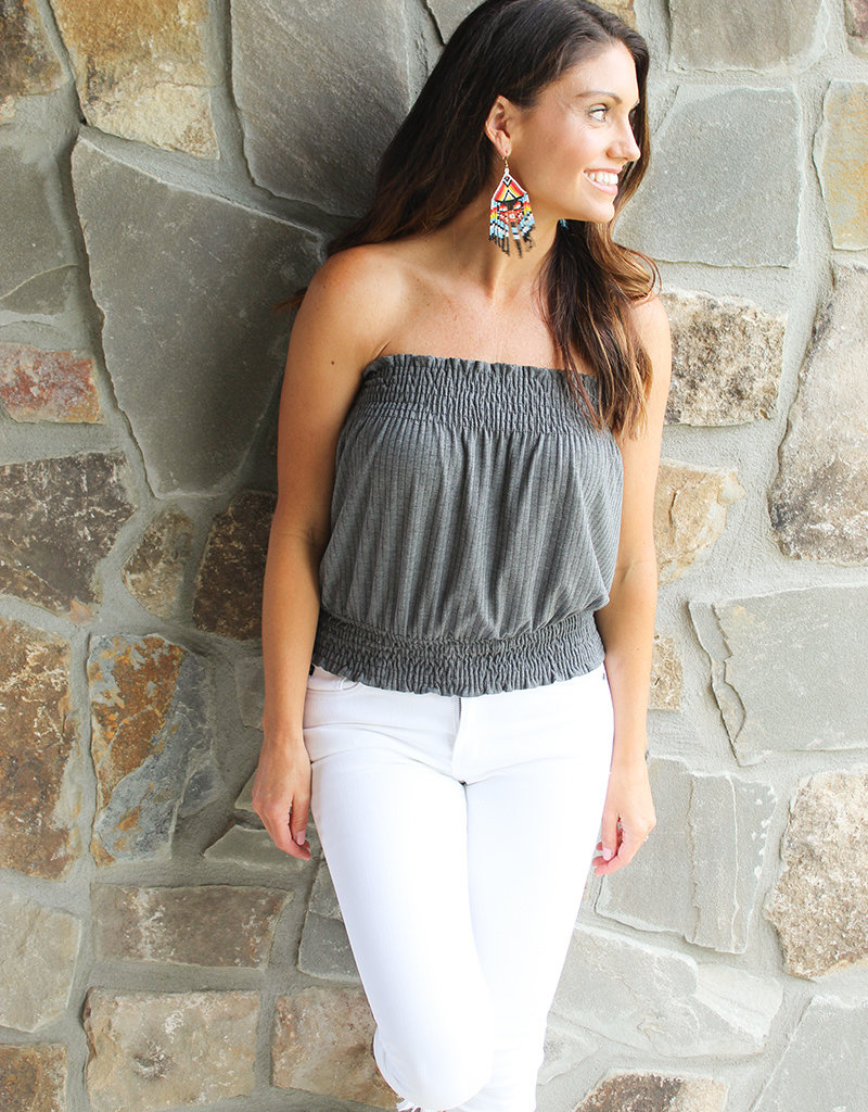 STRAPLESS TOP-7 Colors!