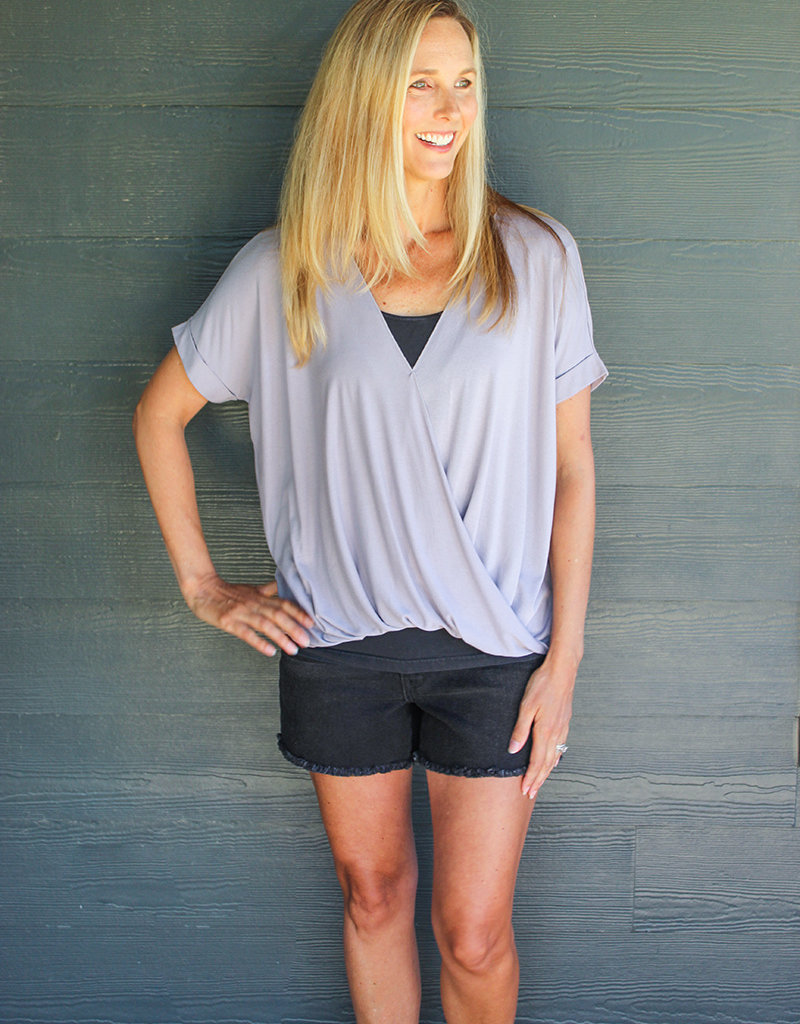 PERFECT WRAP TOP- 7 Colors!