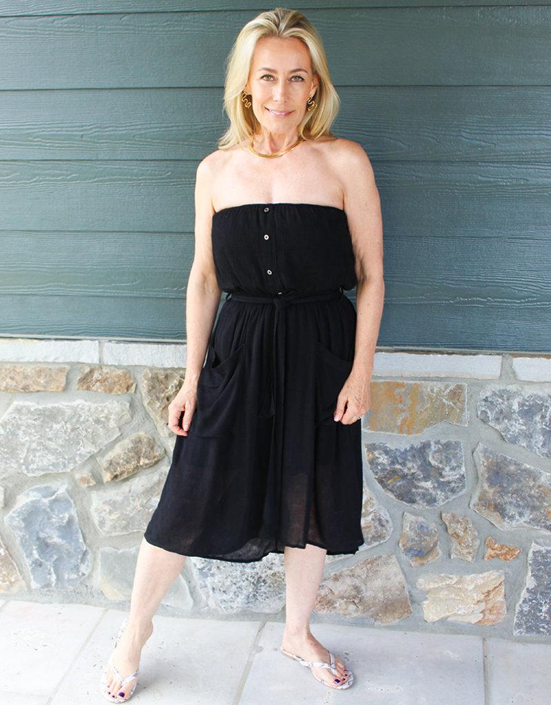 KENNA STRAPLESS DRESS