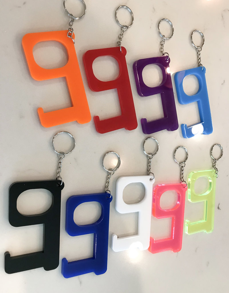 SAFETY KEYCHAIN- 9 colors