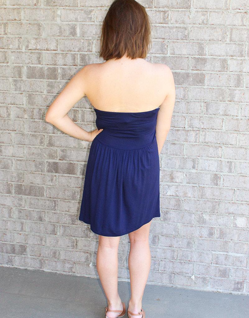 STRAPLESS DRESS- 3 Colors