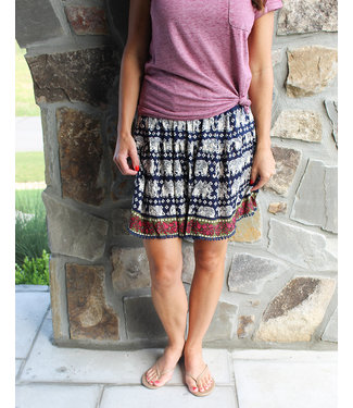 EASY ELASTIC SKIRT