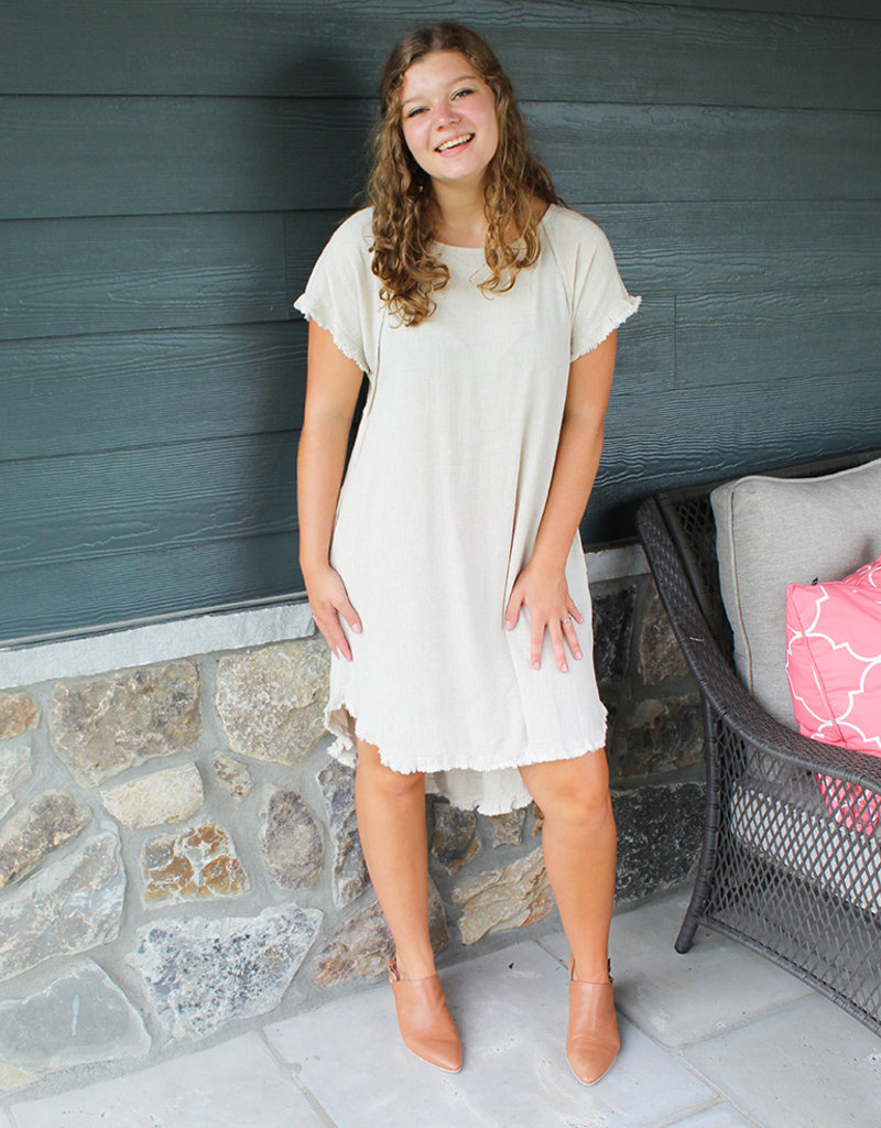 GEORGIE FRAY DRESS-4 colors