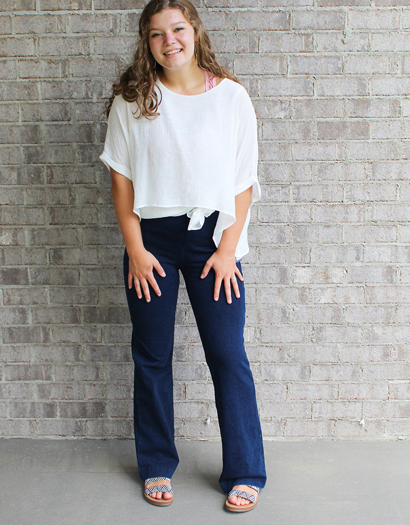 LYSSE DENIM TROUSER