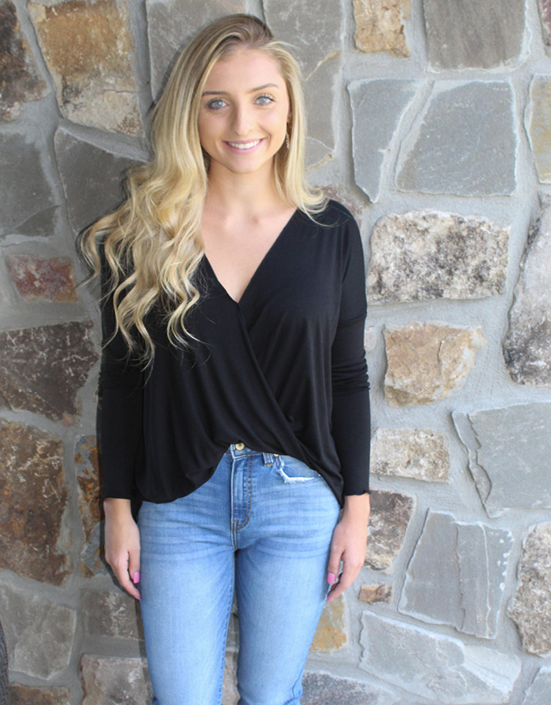 EASY WRAP TOP- Multiple Colors!