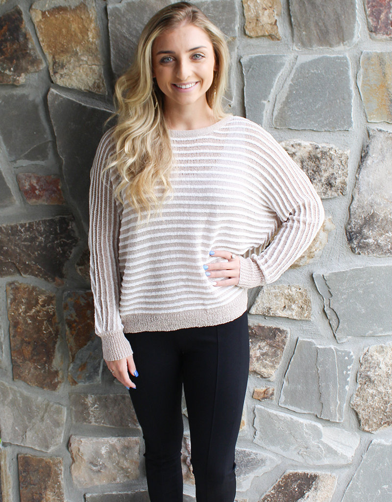 EASY STRIPES SWEATER