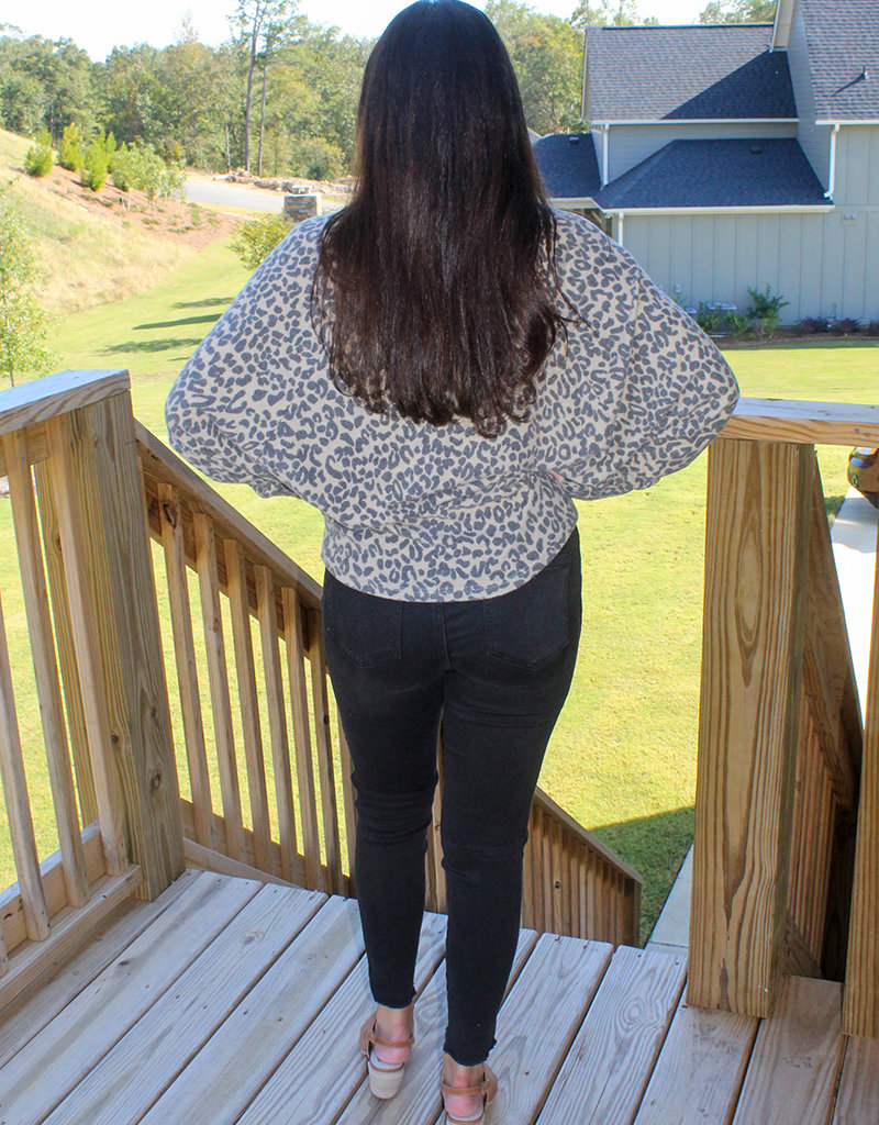 LEOPARD SUPERSOFT TOP