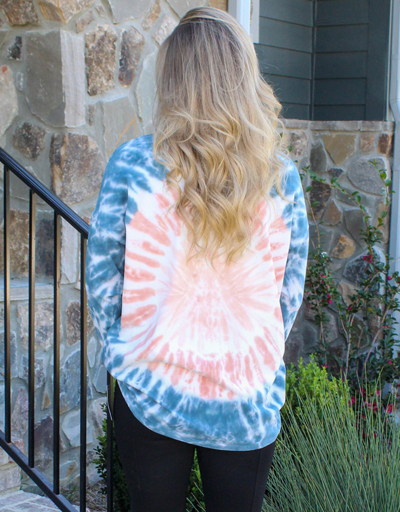 OPEN AIR TIEDYE TOP