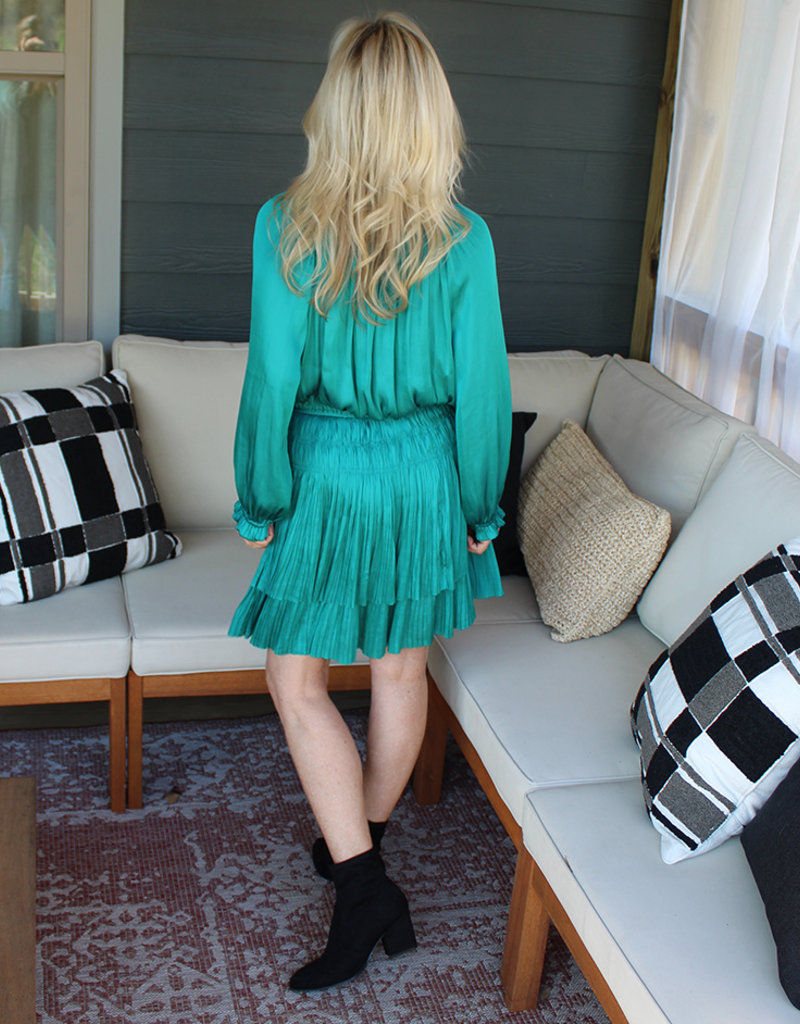 EM SMOCK WAIST DRESS