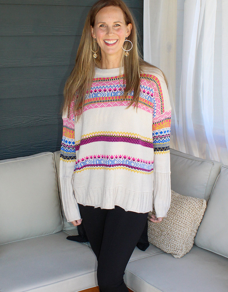 LINES OF LIFE SWEATER