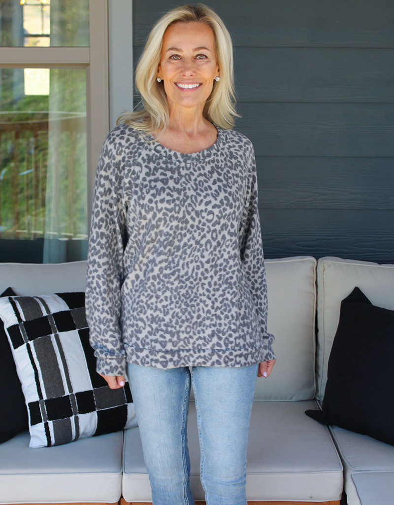 PRINT COZY TOP- 2 Colors