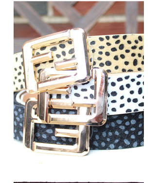 METAL F BUCKLE BELT
