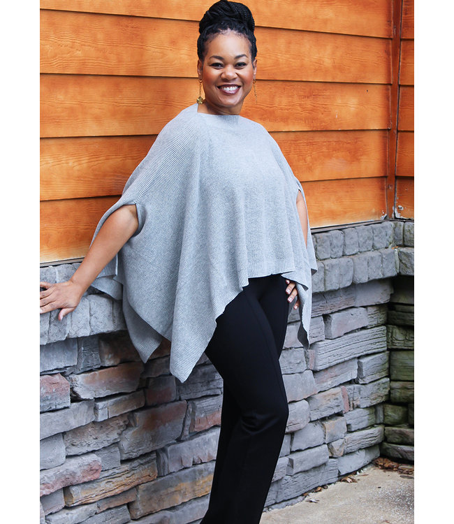 ASHER THERMAL PONCHO- 3 Colors