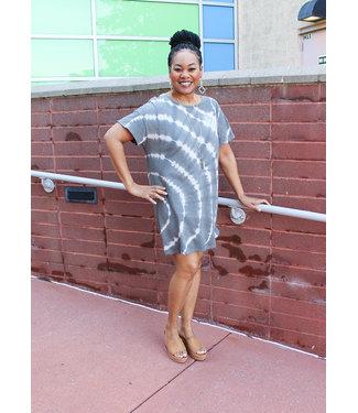 LAUNA SWIRL DRESS- 2 colors