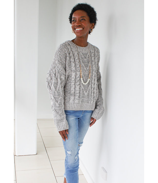 DIMI CABLE SWEATER
