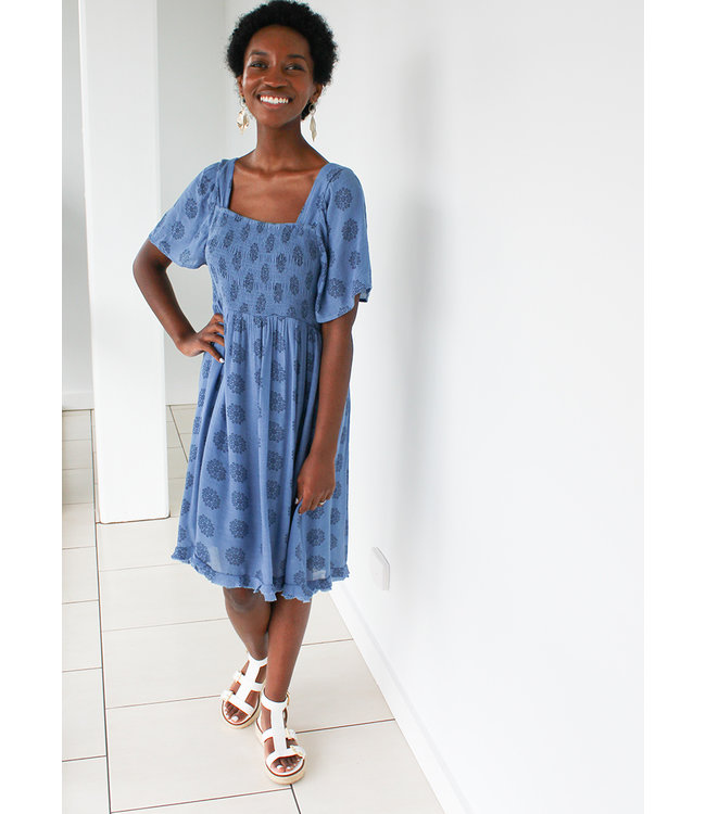 BACK TO COOL DRESS- Two Colors